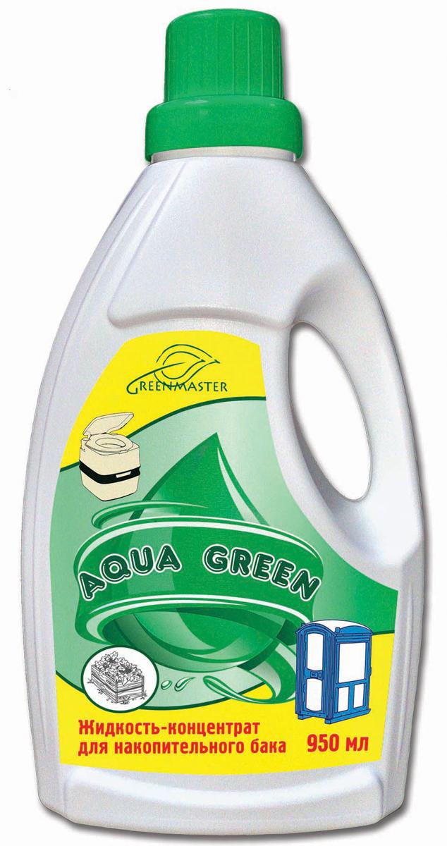 Средсто для биотуалетов Greenmaster, для нижнего бачка, 950 млGR GreeN 0.95Жидкость-концентрат с освежающим ароматом для накопительного бачка. Подходит для пластмассовых и керамических унитазов! Средство для нижнего бочка не должно растворять содержимое, оно только устраняет запах. Отходы можно выливать в компост.Состав: дезодорирующие компоненты на основе минеральных компонентов с поверхностно-активными веществами, краситель, отдушка.Применение: Для выгребных ям: 100 мл* «Green Master» развести в 2-5 л воды и вылить в яму, для выкачивания нечистот за 1-2 дня до применения фекального насоса вылить в яму 1-2 л средства на каждый кубометр объема.Для систем коттеджной канализации (септиков): 100 мл* средства добавлять в систему 1-2 раза в неделю через унитаз, слив раковины или непосредственно в септик. Не заливать в верхний бачек биотуалета.Для туалетов: на каждые 10 л приемной емкости добавить 1 л воды и 50 мл* средства. Этого достаточно при дневной температуре до 15-20°С, если приемная емкость опорожняется раз в неделю. Увеличение температуры, времени хранения и высокая доля белковой пищи в вашем меню требует увеличения дозы в 1,5-2 раза.*объем крышки-дозатора 50 мл.Утилизация: Все органические компоненты «Green Master» биологически разлагаемы, поэтому фекальные массы из приемной емкости в случае применения «Green Master» следует использовать как один из компонентов при изготовлении компоста.