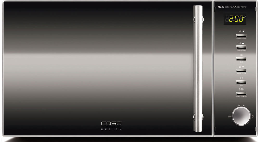 CASO MG 20 Ceramic Menu СВЧ-печь lg mb65w95gih white свч печь с грилем