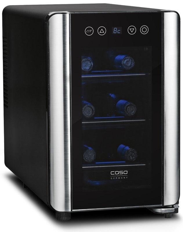 CASO WineCase 6, Black винный холодильник - Холодильники и морозильные камеры