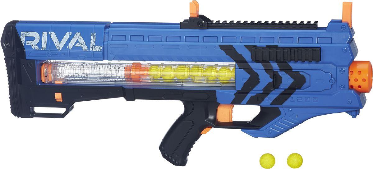 Nerf Бластер Zeus MXV-1200 цвет синий - Игрушечное оружие