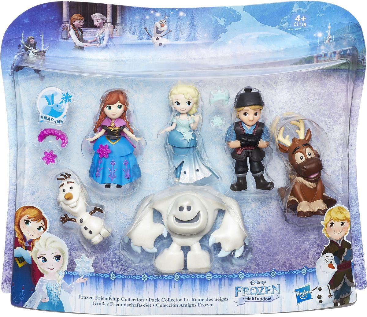 Disney FrozenНабор фигурок Коллекция друзей