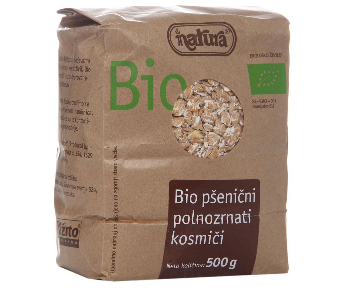 Zito Natura Bio Хлопья пшеничные цельнозерновые, 500 г ufeelgood organic pumpkin seeds органические семена тыквы 150 г