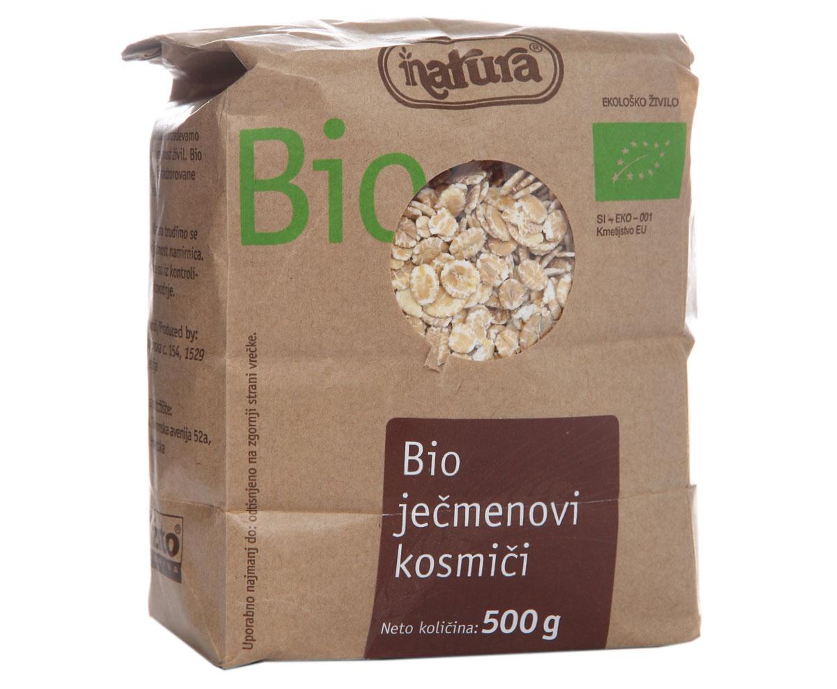 Zito Natura Bio Хлопья ячменные, 500 г каша молочная nestle мультизлаковая с яблоком черникой и малиной с 6 мес 250 г