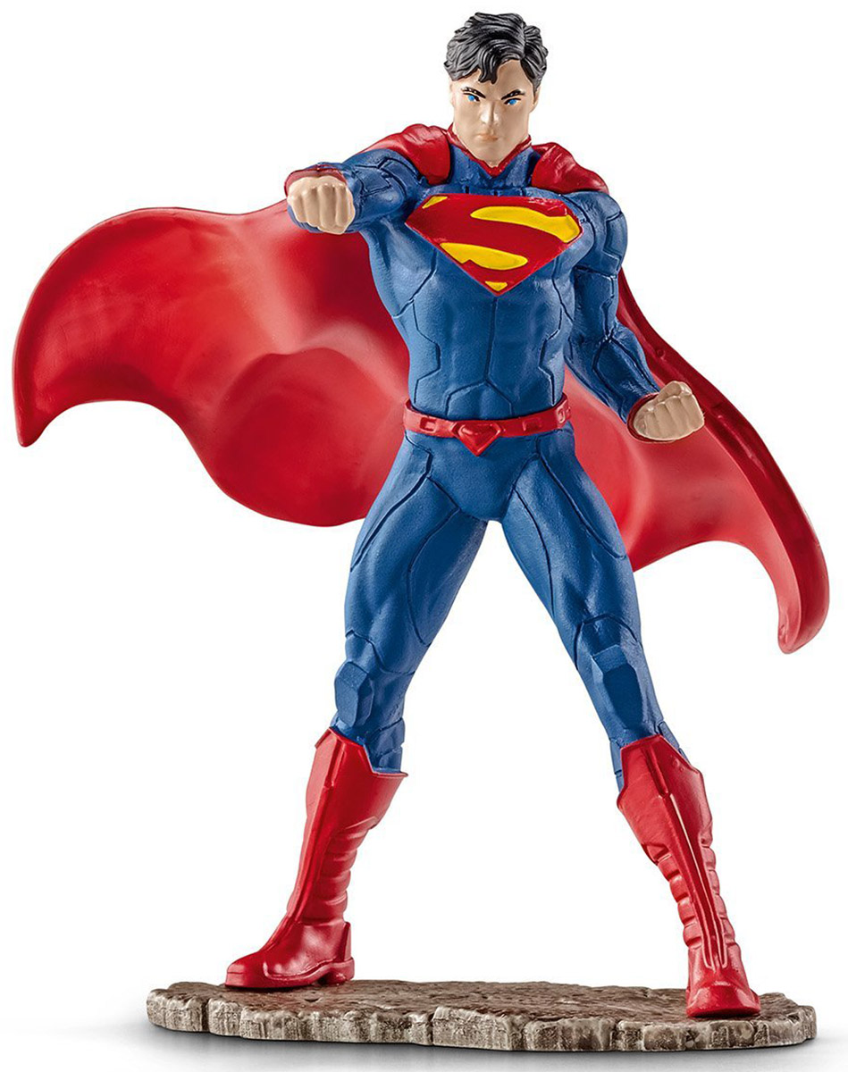 Schleich Фигурка  Супермен сражается фигурка карликовый козел schleich фигурка карликовый козел