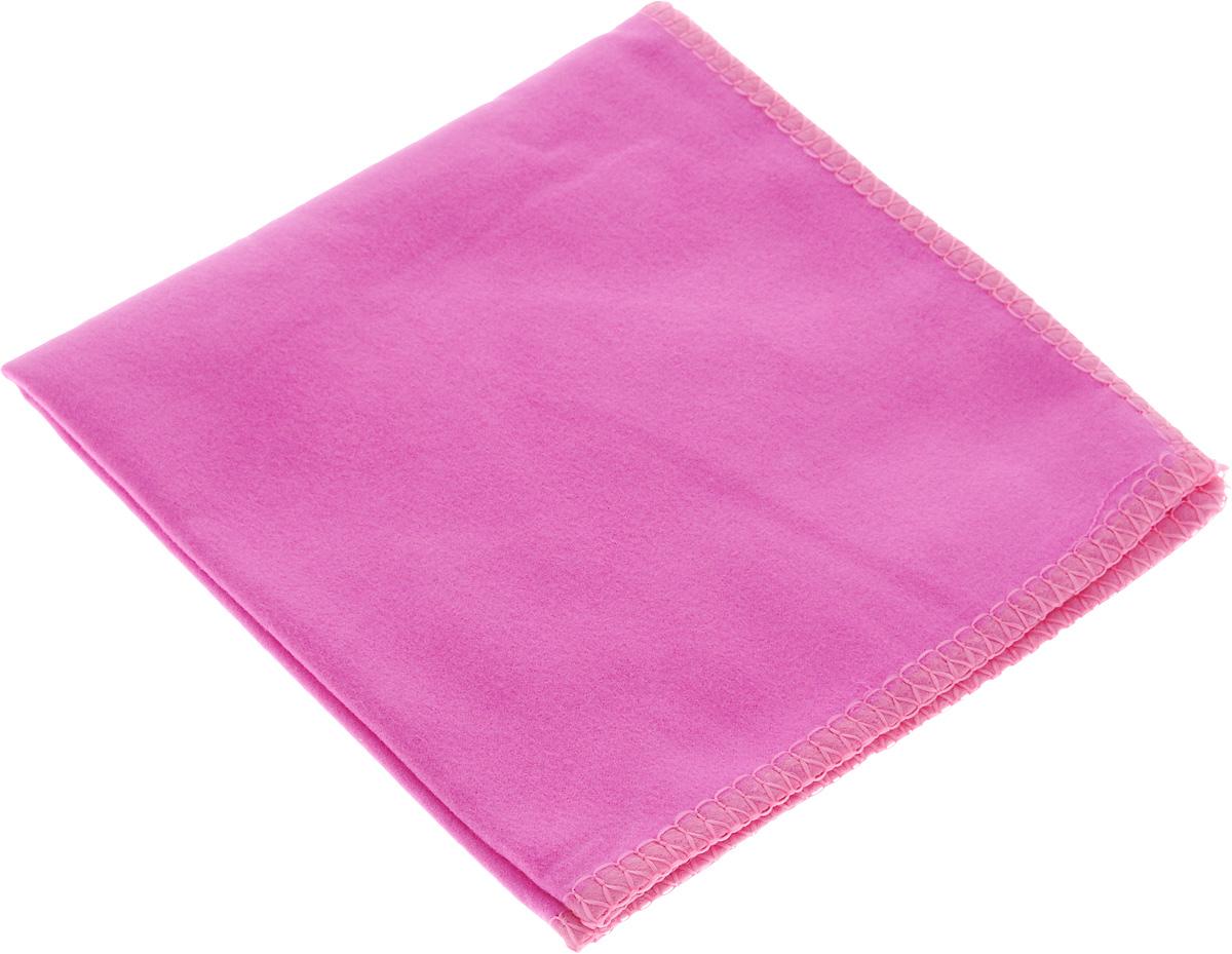 Салфетка для стекол, оптики и зеркал Home Queen, цвет: розовый, 30 х 30 см50306_розовыйСалфетка Home Queen, изготовленная из микрофибры (искусственная замша), предназначена для очищения загрязнений на любых поверхностях (включая стекла, зеркала, оптику, мониторы). Изделие обладает высокой износоустойчивостью и рассчитано на многократное использование, легко моется в теплой воде с мягкими чистящими средствами. Супервпитывающая салфетка не оставляет разводов и ворсинок, удаляет большинство жирных и маслянистых загрязнений без использования химических средств. Размер салфетки: 30 х 30 см.