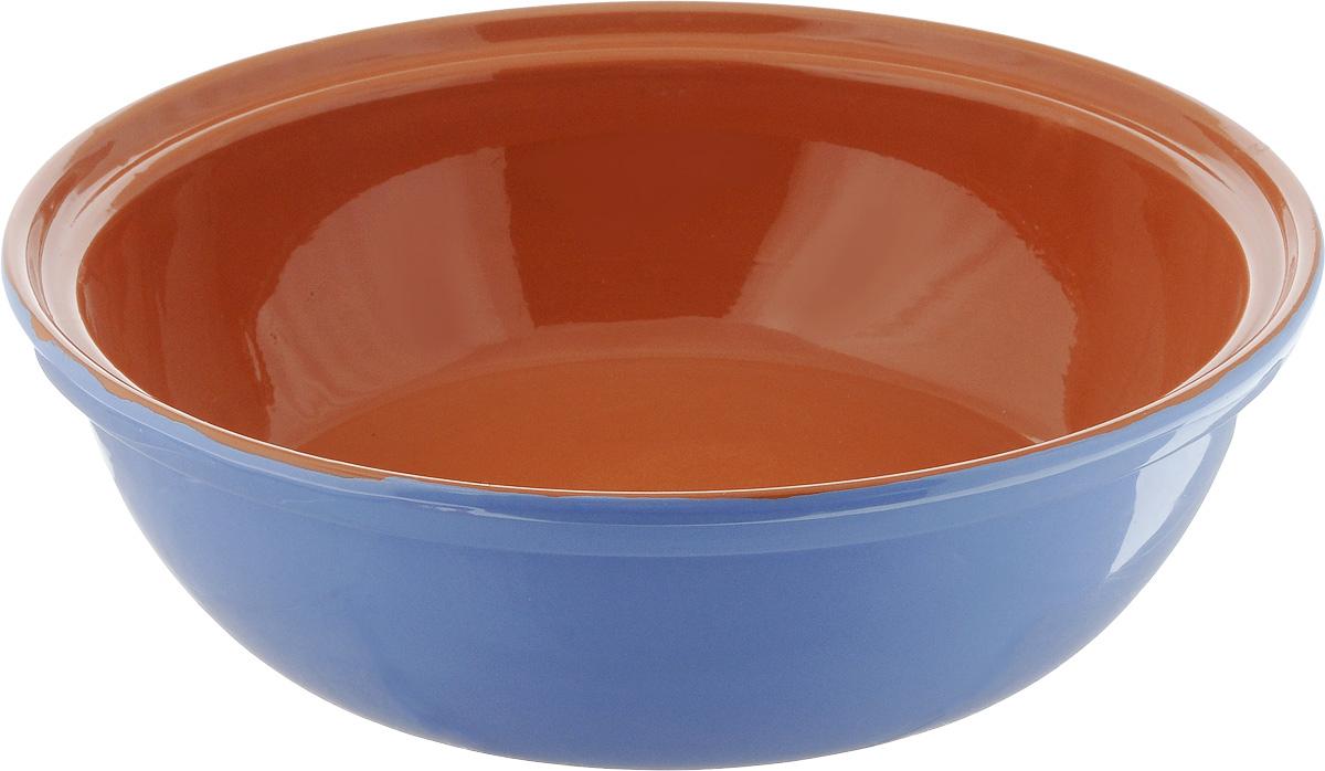Салатник Борисовская керамика Модерн, цвет: сиреневый, коричневый, 2,5 лРАД00001012_сиреневый, коричневыйСалатник Борисовская керамика Модерн выполнен из высококачественной глазурованной керамики. Этот большой и вместительный салатник придется по вкусу любителям здоровой и полезной пищи. Благодаря современной удобной форме, изделие многофункционально и может использоваться хозяйками на кухне как в виде салатника, так и для запекания продуктов, с последующим хранением в нем приготовленной пищи. Посуда термостойкая. Можно использовать в духовке и микроволновой печи.Диаметр (по верхнему краю): 28,5 см.Высота стенки: 8,5 см.