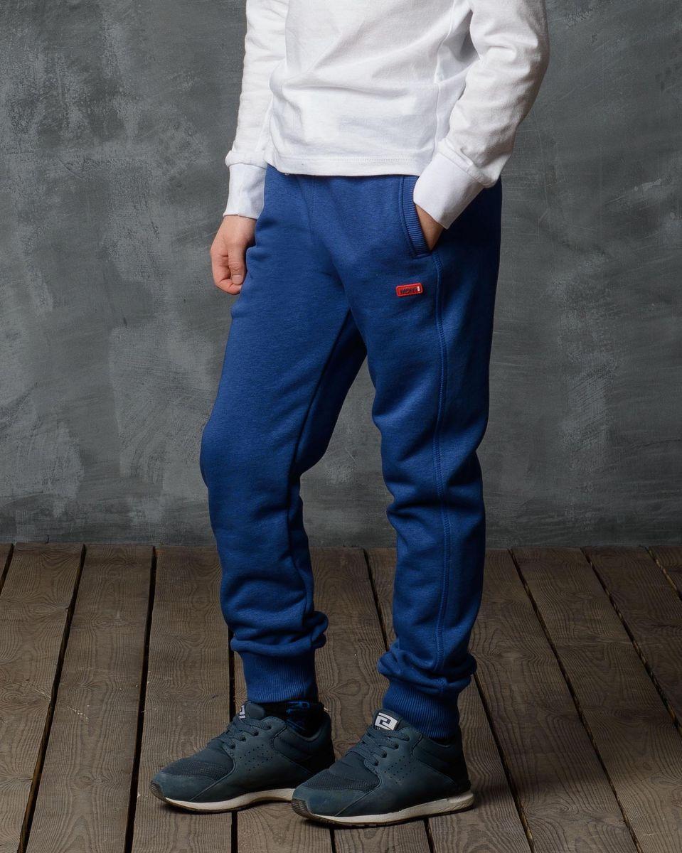 Брюки спортивные для мальчика Modniy Juk, цвет: индиго. 15B00010702. Размер 98/104