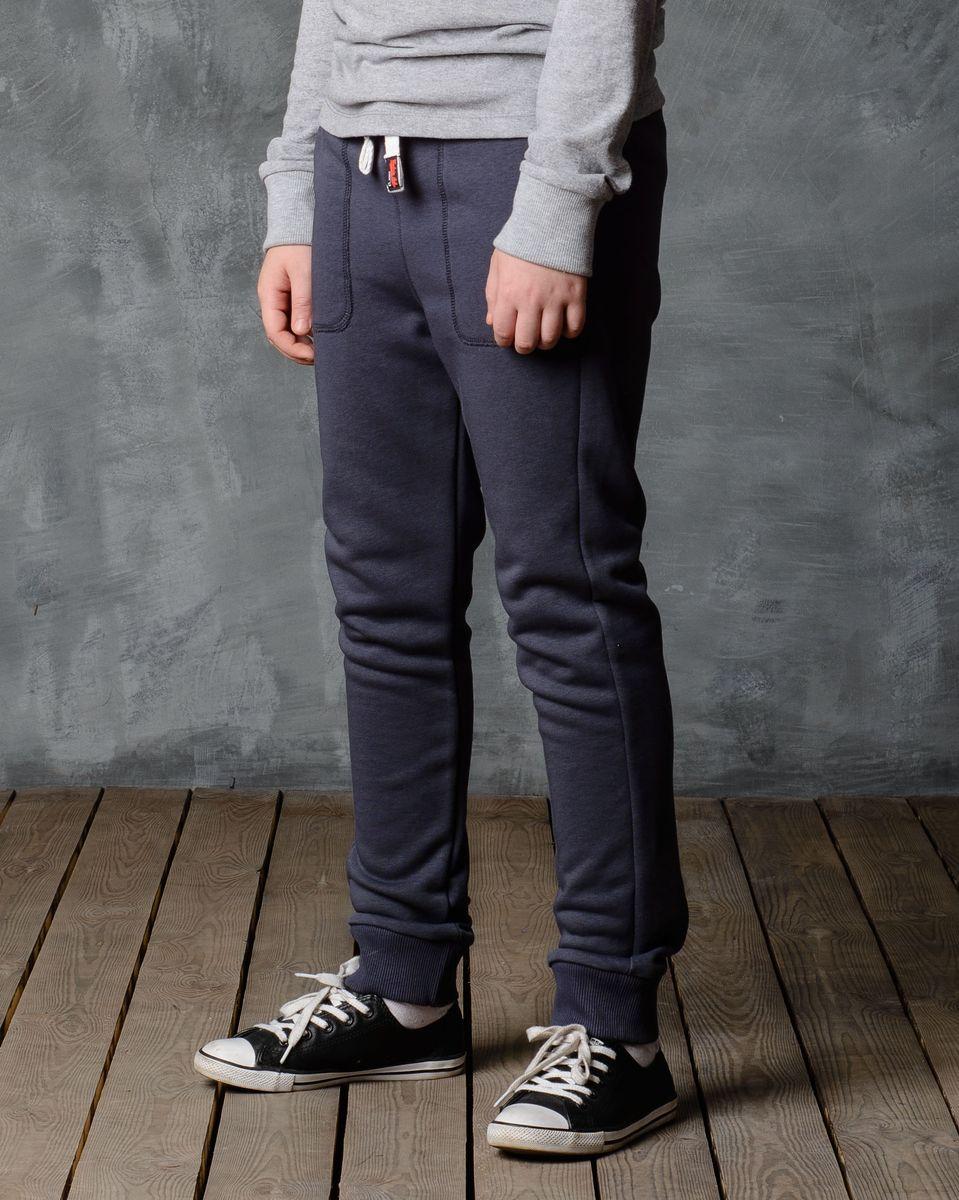 Брюки спортивные для мальчика Modniy Juk, цвет: серый. 15В00080700. Размер 122/128 лонгслив для мальчика modniy juk цвет хаки белый 02в00020100 размер 128 134