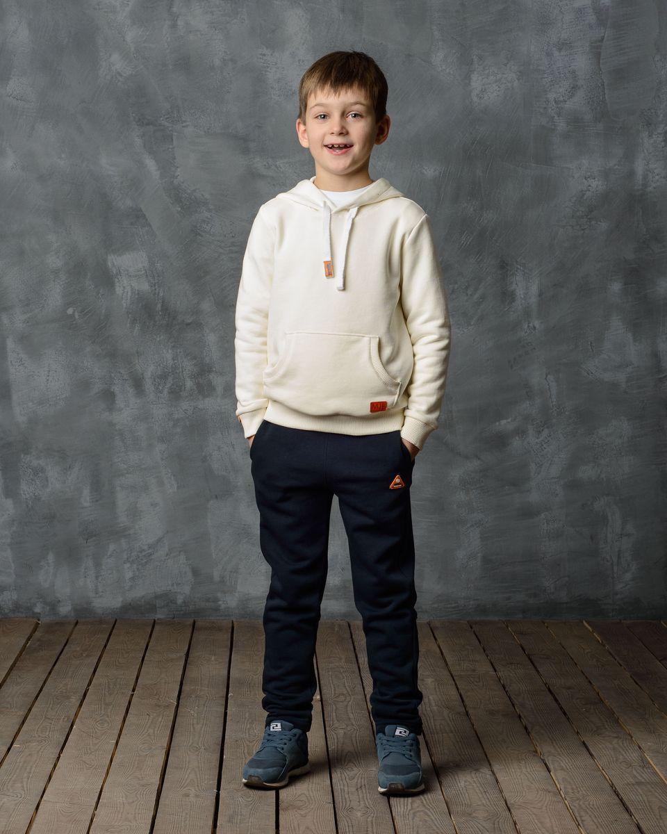 Брюки спортивные для мальчика Modniy Juk, цвет: темно-синий. 15B00070702. Размер 92/98 джемперы modniy juk джемпер