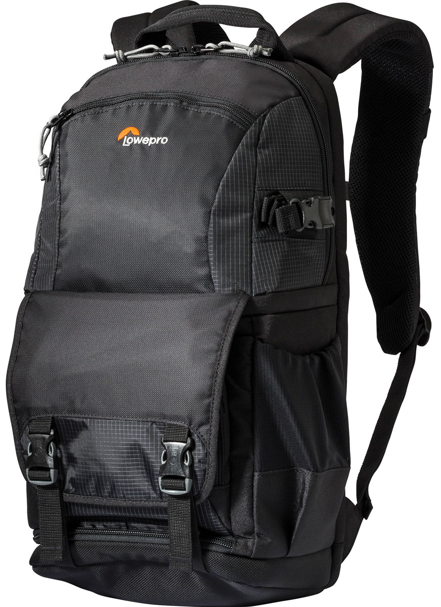 Lowepro Fastpack BP 150 AW II, Black рюкзак для фотоаппарата genuine lowepro fastpack bp 250 ii aw dslr multifunction day pack 2 design 250aw digital slr rucksack new camera backpack