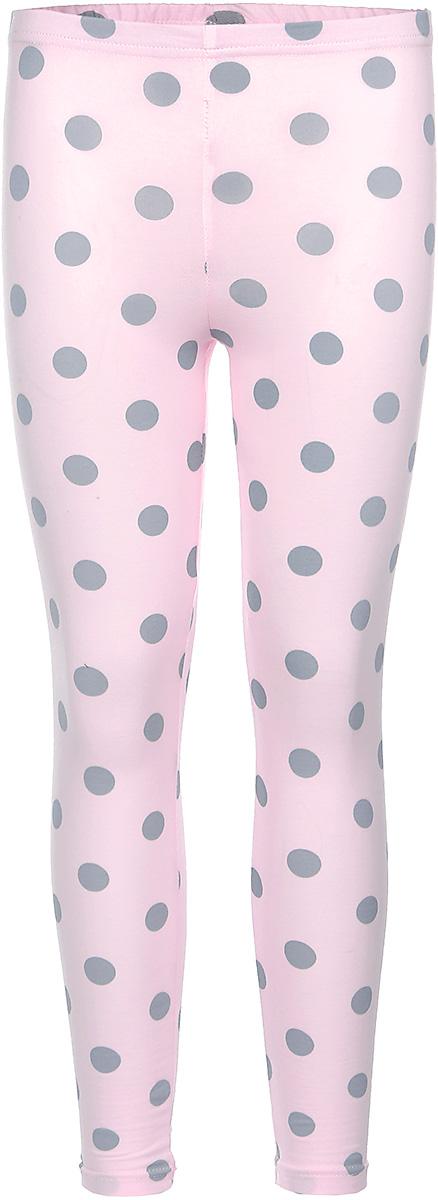 Леггинсы для девочки КотМарКот Горох, цвет: розовый, серый. 22746. Размер 98, 3 года22746Леггинсы для девочки КотМарКот Горох изготовлены из натурального хлопка. Леггинсы имеют широкую эластичную резинку на поясе. Изделие украшено контрастным принтом в крупный горох.