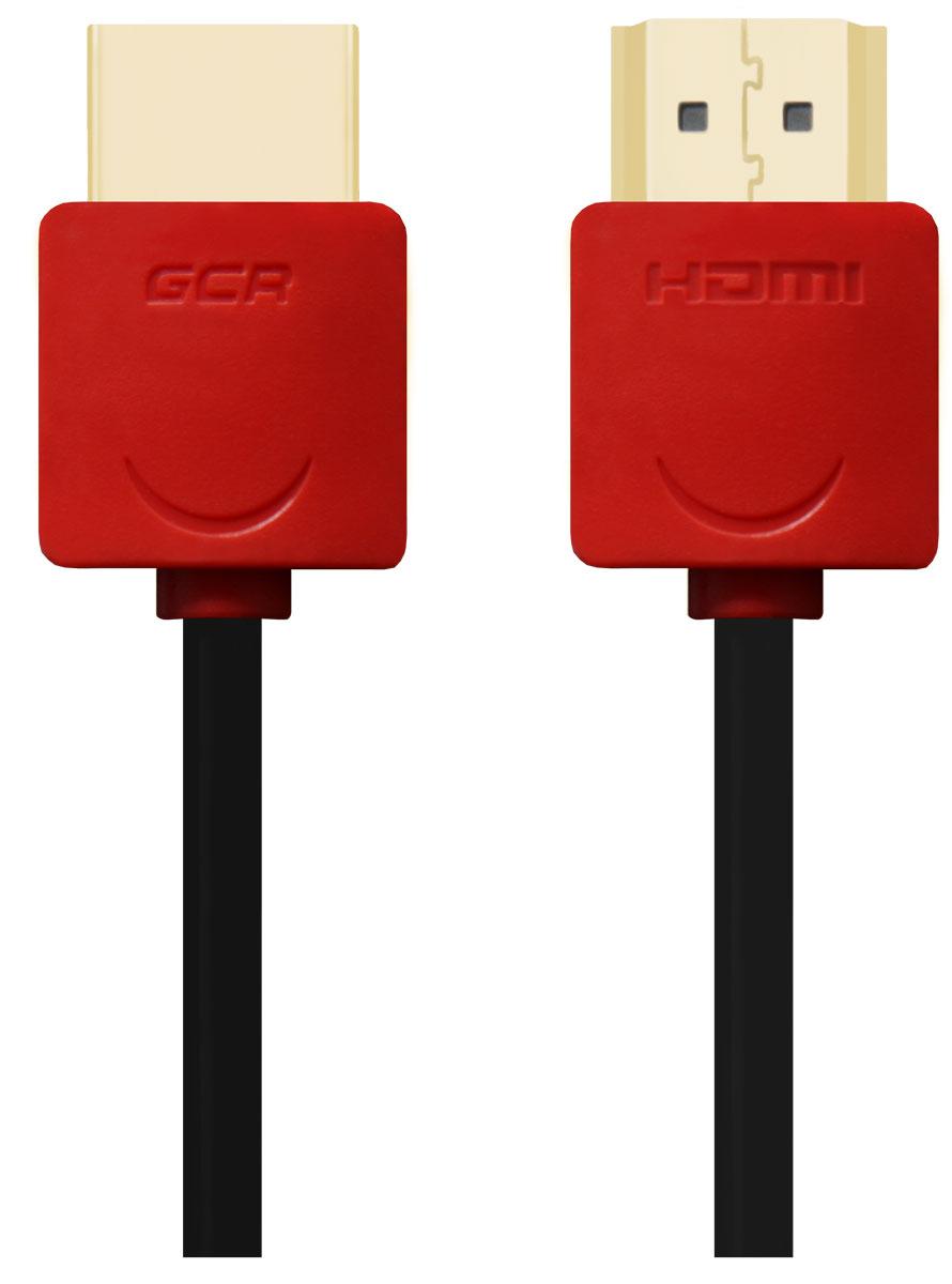Greenconnect GCR-HM550 кабель HDMI (2 м)GCR-HM550-2.0mКабель HDMI v 1.4 Greenconnect GCR-HM550 - отличное решение для подключения компьютера, игровых консолей, DVD и Blu-ray плееров, аудио-ресиверов к телевизору или дополнительному монитору. Кабель HDMI поддерживает как стандартные, так и высокие разрешения самых современных моделей телевизоров.Greenconnect GCR-HM550 поддерживает 4K, Full HD и HD разрешения. Это даёт возможность наслаждаться более точной и естественной картинкой с высочайшим уровнем детализации и диапазоном цветов. Использование кабеля позволяет передавать изображение в столь популярном формате 3D, усиливая элемент присутствия и позволяя получать удовольствие от качественного объёмного изображения.Кабель оснащен двунаправленным каналом для передачи сетевых данных, который подходит для использования IP-приложениями. Канал Ethernet позволяет нескольким устройствам работать в сети Ethernet без необходимости подключения дополнительных проводов, а также напрямую обмениваться контентом. Наличие обратного канала аудио устраняет необходимость в отдельном проводе для передачи звука в ресивер с телевизора или другого устройства, которое является одновременно источником аудио и видео.Максимальная скорость передачи данных по HDMI кабелю Greenconnect GCR-HM550 до 10,2 Гбит/с. Высокая скорость обеспечивает передачу больших объёмов данных за кратчайшее время. Позволяет передавать данные в онлайн режиме без потери качества. Экранирование кабеля защищает сигнал при передаче от влияния внешних полей, способных создать помехи.