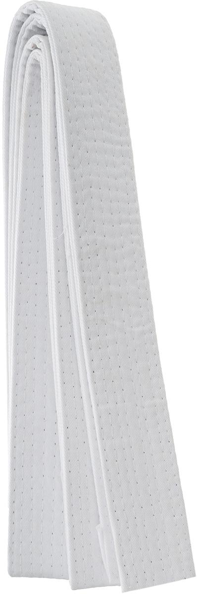 Пояс для кимоно Jabb, цвет: белый. JE-2783_339684. Размер 4 см х 240 смJE-2783_339684Пояс Jabb - универсальный пояс для кимоно. Пояс выполнен из плотного хлопкового материала с многорядной прострочкой.