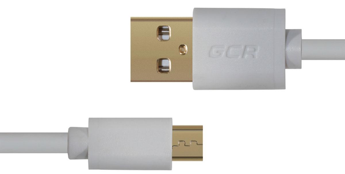 Greenconnect Russia GCR-UA10MCB3-AA2SG, White кабель micro USB-USB (0,75 м)GCR-UA10MCB3-AA2SG-0.75mКабель Greenconnect Russia GCR-UA10MCB3-AA2SG позволяет подключать мобильные устройства, которые имеют разъем microUSB к USB разъему компьютера. Подходит для повседневных задач, таких как синхронизация данных, зарядка устройства и передача файлов. Экранирование кабеля позволяет защитить сигнал при передаче от влияния внешних полей, способных создать помехи.