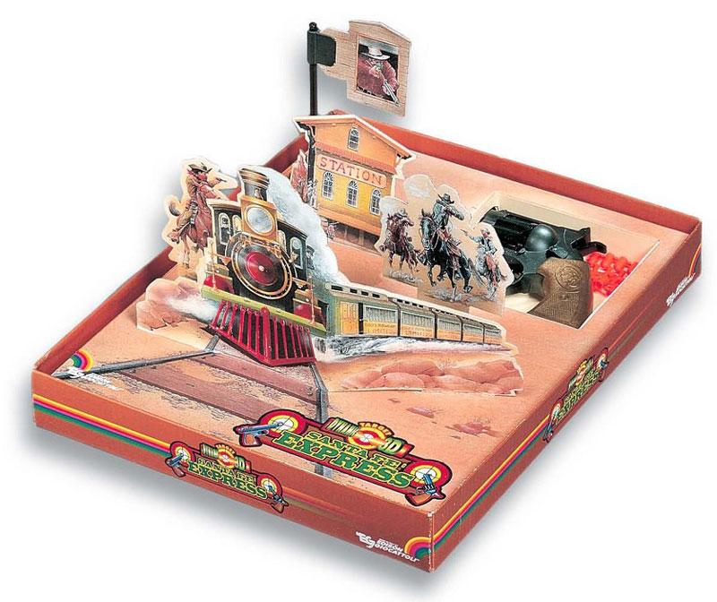 Edison Набор игрушечного оружия Santa Fe Express