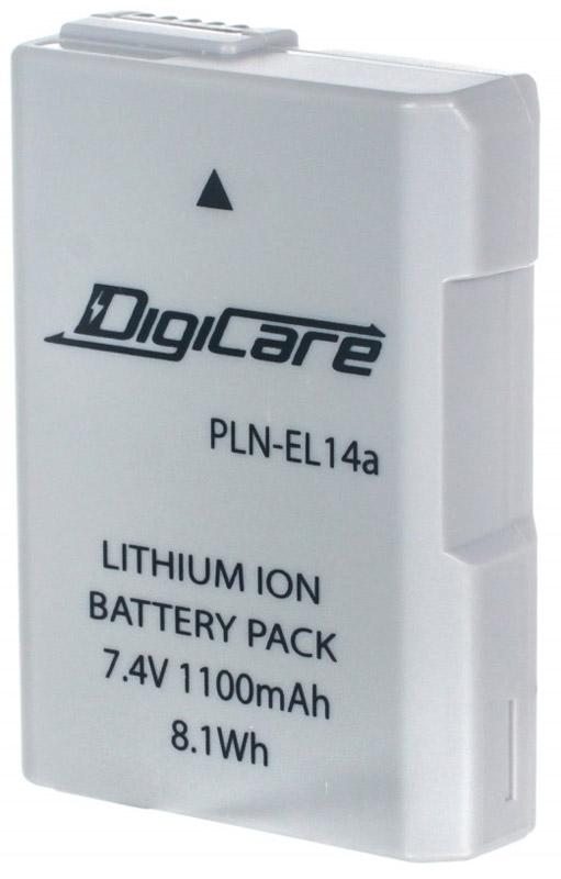 DigiCare PLN-EL14a аккумулятор для NikonPLN-EL14aDigiCare PLN-EL14a - надежная и легкая аккумуляторная батарея для вашей фотокамеры. Данная модельотличается быстрым процессом зарядки и продолжительным временем автономной работы. Аккумулятор необладает эффектом памяти и легко восстанавливает работоспособность после глубокого разряда.