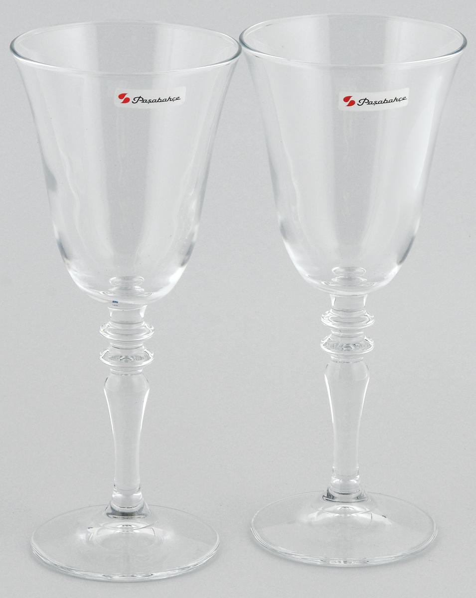 Набор бокалов для вина Pasabahce Vintage, 236 мл, 2 шт440184B//Набор Pasabahce Vintage состоит из двух бокалов, выполненных из прочногонатрий-кальций-силикатного стекла. Изделия оснащенывысокими ножками и предназначены для подачи вина. Онисочетают в себе элегантный дизайн и функциональность.Набор бокалов Pasabahce Vintage прекрасно оформит праздничный стол исоздастприятную атмосферу за романтическим ужином. Такой набор также станетхорошим подарком к любому случаю.