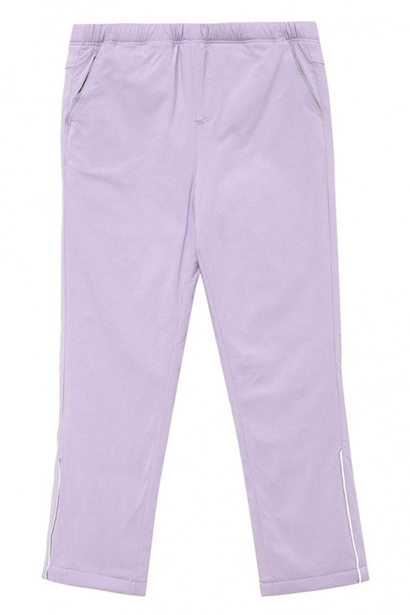 Брюки для девочки Sela, цвет: бледно-сиреневый. Ppf-525/103-7111. Размер 110, 5 летPpf-525/103-7111Модные брюки для девочки Sela отличной подойдут для прогулок и игр на свежем воздухе. Брюки выполнены из вискозы с добавлением эластана и нейлона на подкладке из полиэстера. Модель имеет пояс на мягкой резинке и дополнена двумя втачными карманами.