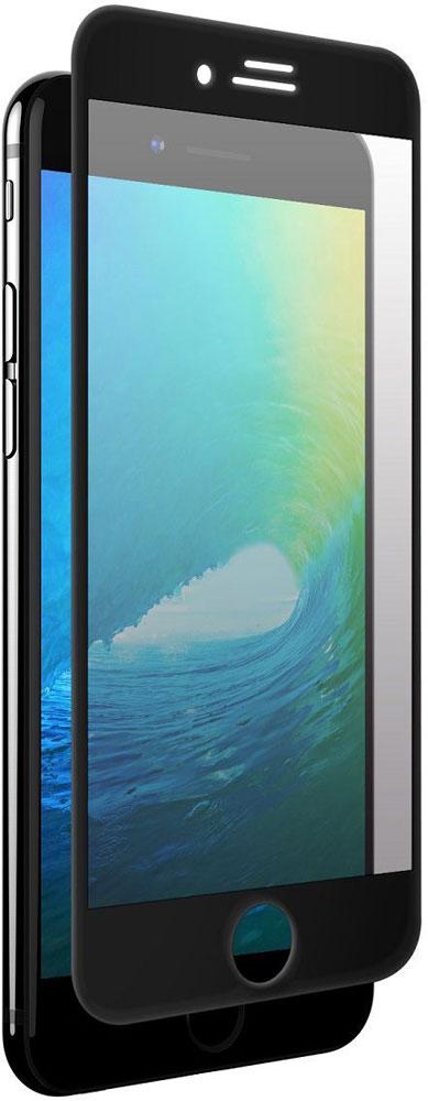 uBear Full Cover Premium Glass 3D защитное стекло для iPhone 7, BlackGL06BL03-I7Защитное стекло uBear uBear Full Cover Premium Glass 3D для iPhone 7 обеспечивает надежную защиту сенсорного экрана устройства от большинства механических повреждений и сохраняет первоначальный вид дисплея, его цветопередачу и управляемость. Закругленные края стекла полностью повторяют форму iPhone и защищают боковые элементы. Благодаря наличию олеофобного покрытия, на экране не остаются отпечатки пальцев и различные жирные пятна.