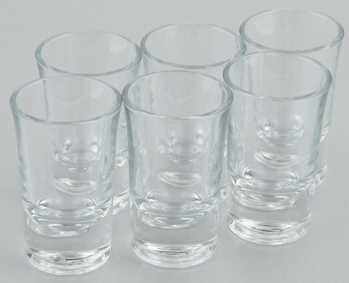 Набор стопок Pasabahce Boston Shots, 40 мл, 6 шт52174/Набор Pasabahce Boston Shots состоит из 6 стопок, выполненных из закаленного натрий-кальций-силикатного стекла. Изделия прекрасно подойдут для подачи крепких алкогольных напитков. Набор стопок Pasabahce Boston Shots украсит ваш стол и станет отличным подарком к любому празднику.