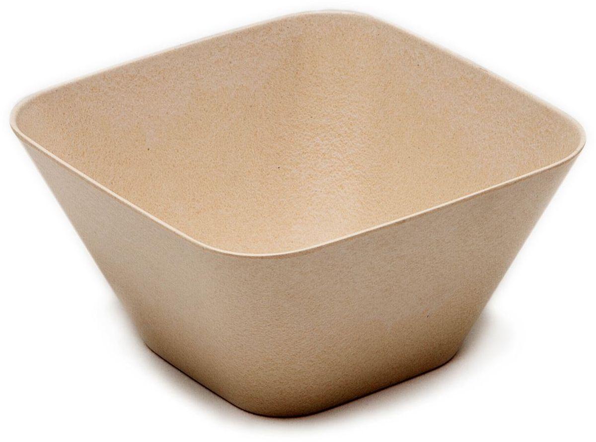 Миска квадратная MOULINvilla, цвет: бежевый, 14,5 х 14,5 х 7,5 смTSF-02-WМиска квадратная MOULINvilla изготовлена из природного бамбука, очищенного от вредных примесей. Для окраски используются натуральные пищевые красители. Бамбук, сам по себе, является природным антисептиком. Эта уникальная особенность посуды гарантирует безопасность при эксплуатации и хранении различных видов пищевой продукции. Особенности: - 100% биодеградация: полное биоразложение после утилизации; - 100% экологически чистый продукт: не содержит пластик, меламин и химические соединения; - можно мыть в посудомоечной машине; - можно использовать для горячих и холодных продуктов (диапазон температур: от -20°С до 120°С); - нельзя использовать в СВЧ печах; - безопасно для детей.Современный дизайн и палитра красок посуды MOULINvilla делает ее красивым предметом интерьера современной кухни.