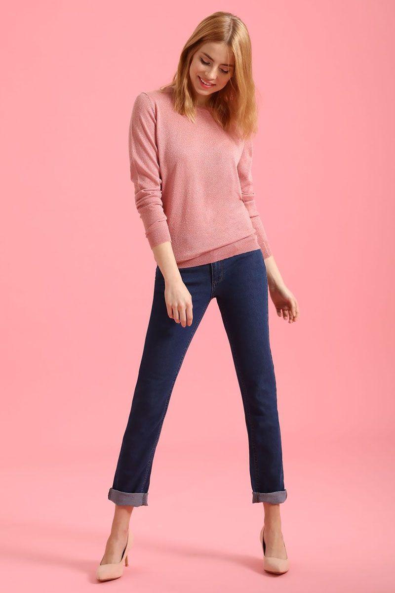 Брюки женские Top Secret, цвет: синий. SSP2456NI. Размер 34 (42)SSP2456NIСтильные женские брюки Top Secret - брюки высочайшего качества на каждый день, которые прекрасно сидят. Модель изготовлена из высококачественного комбинированного материала. Эти модные и в тоже время комфортные брюки послужат отличным дополнением к вашему гардеробу. В них вы всегда будете чувствовать себя уютно и комфортно.