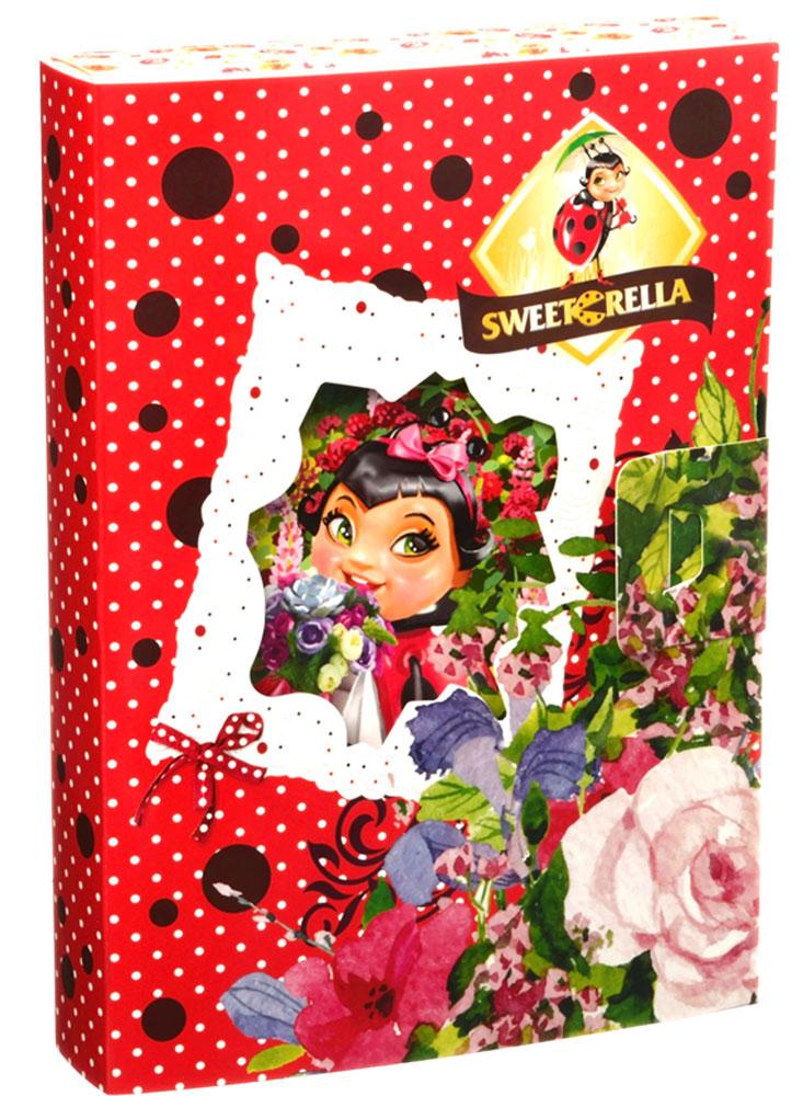 Sweeterella набор шоколадных конфет открытка, 165 г kinder choco bons конфеты из молочного шоколада с молочно ореховой начинкой 46 г