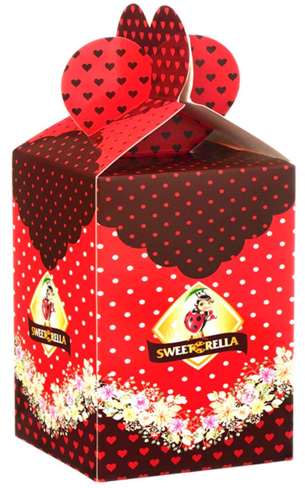 Sweeterella пряники с начинкой глазированные, 300 г e wedel молочный шоколад с фруктовой начинкой персик клюква 100 г
