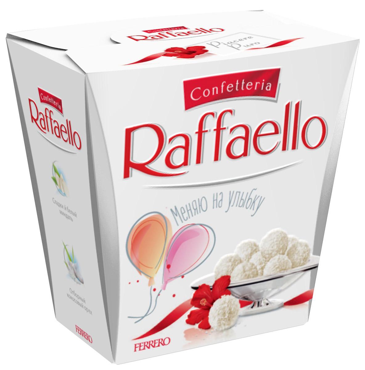 Raffaello Весенняя коллекция конфеты с цельным миндальным орехом в кокосовой обсыпке, 40 г