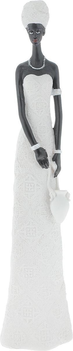 Фигурка декоративная Феникс-Презент Зола, высота 33,5 см43549Фигурка декоративная Феникс-Презент Зола, выполненная из полирезина в виде девушки с кувшином, станет оригинальным подарком для всех любителей необычных вещей.Изысканный сувенир станет прекрасным дополнением к интерьеру. Вы можете поставить фигурку в любом месте, где она будет удачно смотреться и радовать глаз.