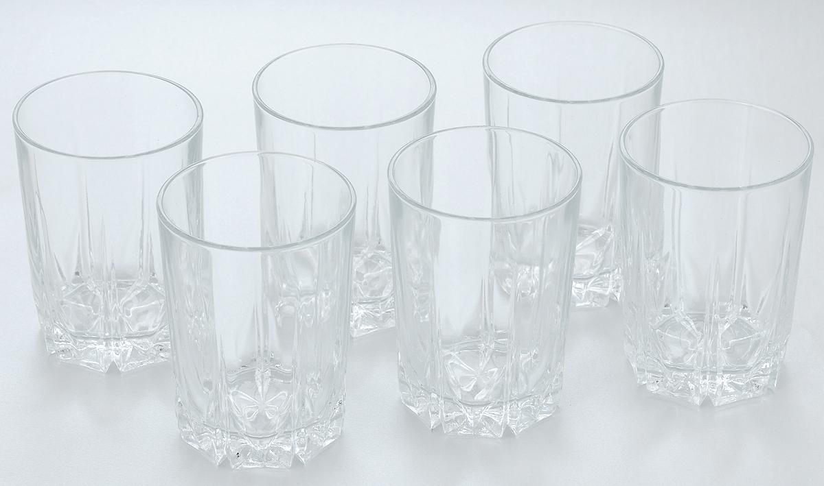 Набор стаканов Pasabahce Karat, 250 мл, 6 шт набор стаканов для сока pasabahce tango 6 преметов