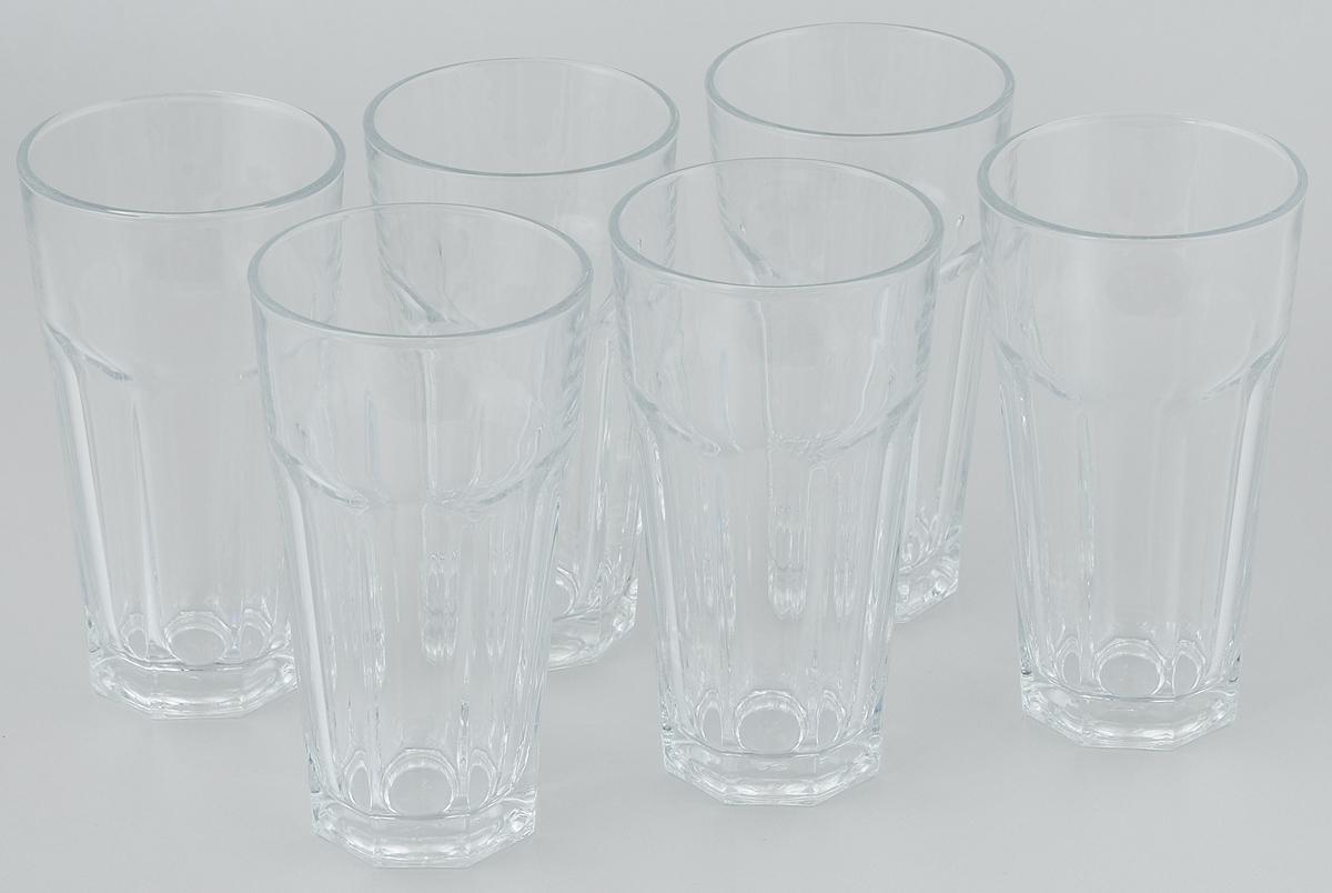 Набор стаканов Pasabahce Casablanca, 365 мл, 6 шт набор стаканов для сока pasabahce tango 6 преметов