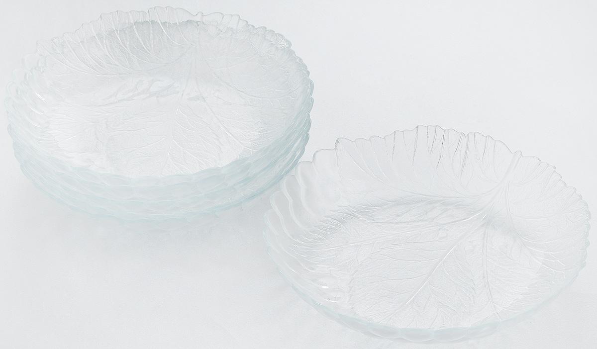 Набор тарелок Pasabahce Sultana, диаметр 21 см, 6 шт10285BНабор Pasabahce Sultana состоит из 6 тарелок, выполненных из высококачественного натрий-кальций-силикатного стекла. Изделия предназначены для красивой сервировки различных блюд. Набор сочетает в себе изысканный дизайн с максимальной функциональностью.