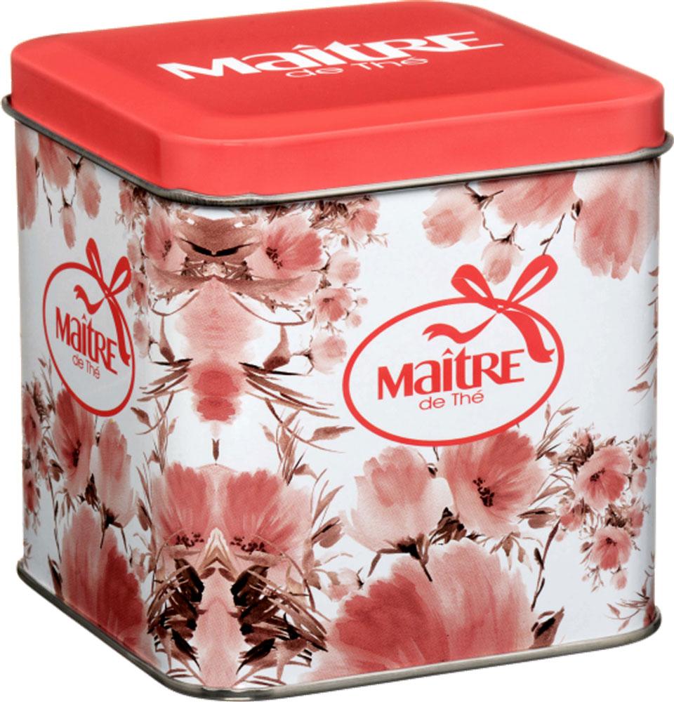 Maitre Цветы набор черного листового чая, 70 г maitre de the де люкс зеленый листовой чай 65 г жестяная банка