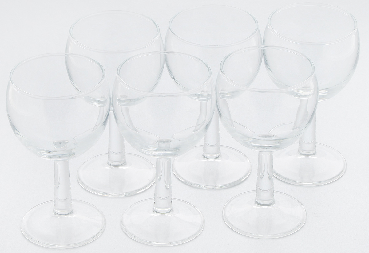 """Набор Pasabahce """"Banquet"""" состоит из шести бокалов, выполненных из прочного натрий-кальций-силикатного стекла. Бокалы, предназначенные для подачи белого вина, сочетают в себе элегантный дизайн и функциональность. Набор бокалов Pasabahce """"Banquet"""" прекрасно оформит праздничный стол и создаст приятную атмосферу за романтическим ужином. Такой набор также станет хорошим подарком к любому случаю. Высота бокала: 12 см."""
