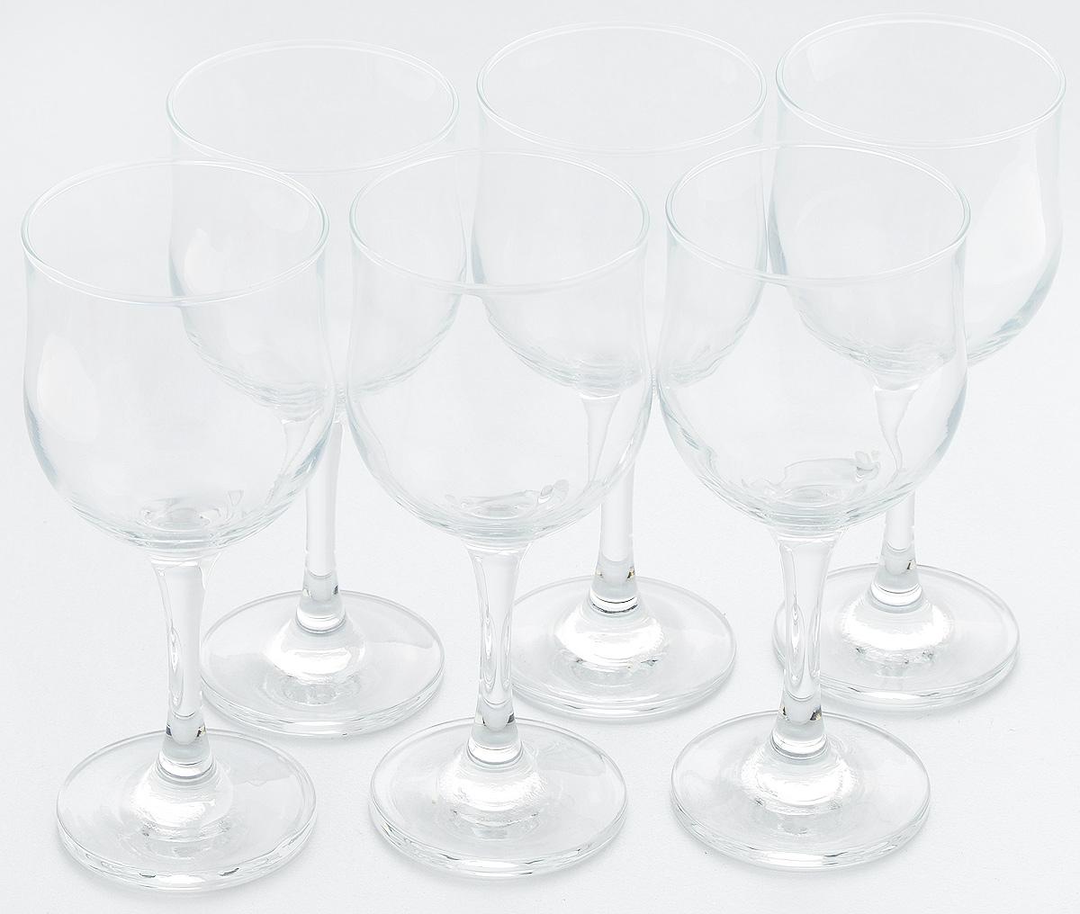 Набор бокалов для красного вина Pasabahce Tulipe, 240 мл, 6 шт