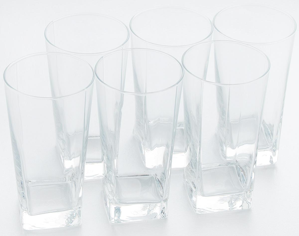 Набор стаканов Pasabahce Carre, 305 мл, 6 шт41300/Набор Pasabahce состоит из шести стаканов, выполненных из натрий-кальций-силикатного стекла. Изделия предназначены для подачи сока, воды, компота и другихнапитков. Такие стаканы станут идеальным украшением праздничного стола и отличным подарком к любомупразднику.Диаметр стакана: 7 см.Высота стакана: 13,1 см.