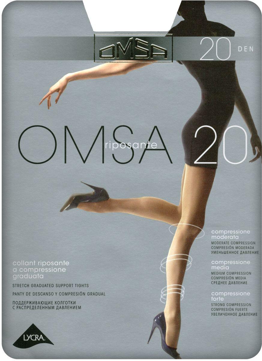 Колготки женские Omsa 20, цвет: Daino (загар). SNL-392290. Размер 5 недорго, оригинальная цена