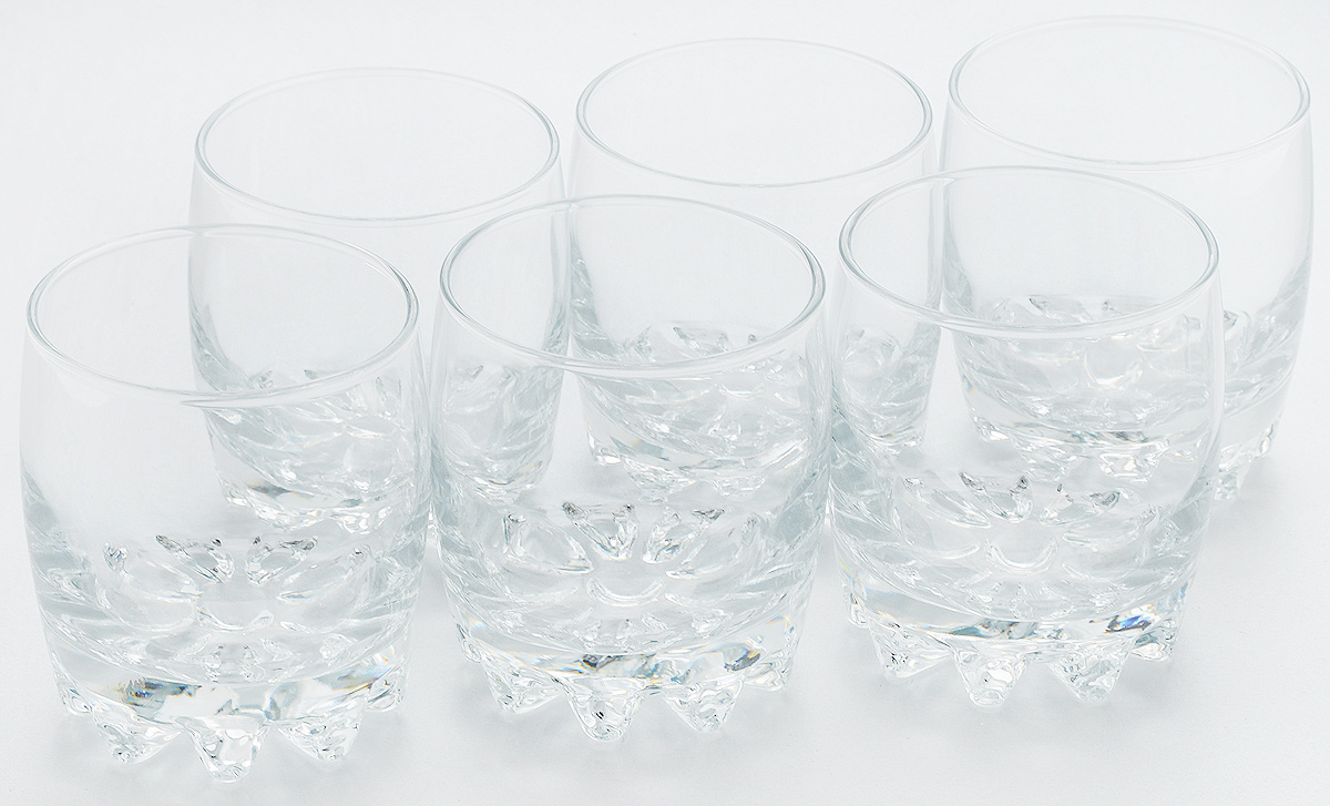 Набор стаканов для виски Pasabahce Sylvana, 315 мл, 6 шт набор стаканов для виски pasabahce sylvana 315 мл 6 шт
