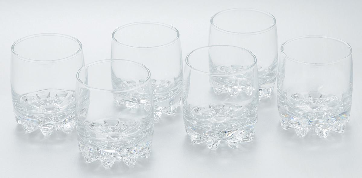 Набор стаканов для сока Pasabahce Sylvana, 200 мл, 6 шт. 42414B42414BНабор Pasabahce состоит из шести стаканов, выполненных из закаленного натрий-кальций-силикатного стекла. Низкие стаканы с утолщенным дном предназначены для подачи сока, компота и других напитков. Стаканы сочетают в себе элегантный дизайн и функциональность. Благодаря такому набору пить напитки будет еще вкуснее.Набор стаканов Pasabahce идеально подойдет для сервировки стола и станет отличным подарком к любому празднику. Высота стакана: 8 см.