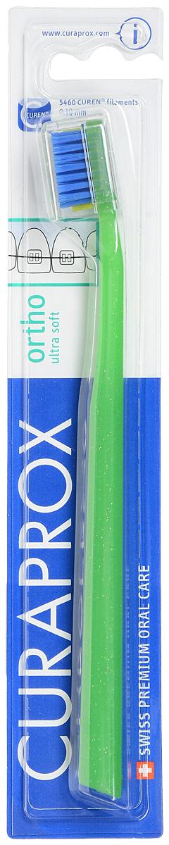 Curaprox CS 5460 ortho Ортодонтическая щетка с углублением, цвет: салатовыйCS5460 ortho_салатовыйЩетка, со специальным углублением на поверхности, предназначена для ежедневного очищения зубов при наличии брекет-системы. Щетка содержит 5460 мягких активных щетинок (диаметр 0,10 мм) и обеспечивает качественное и нетравматичное удаление зубного налета.
