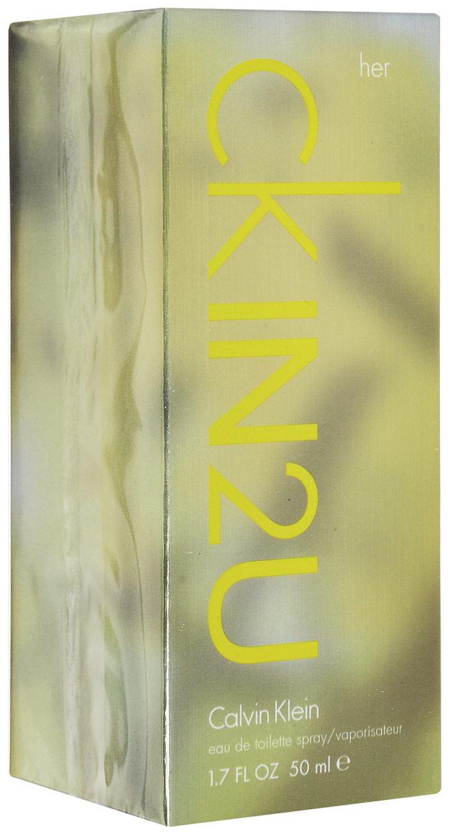Calvin Klein Ck In2u Women Туалетная вода 50 мл sheer beauty calvin klein описание аромата