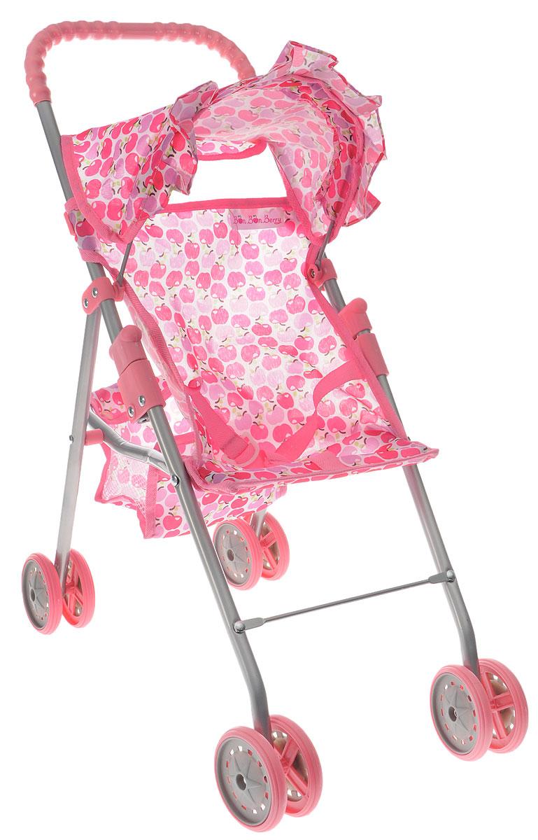 Bon Bon Berry Коляска прогулочная для кукол цвет розовый