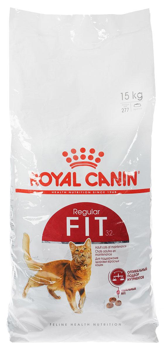 Корм сухой Royal Canin Fit 32 для кошек, имеющих доступ на улицу, 15 кг437150Royal Canin Fit 32 - это полнорационный сбалансированный корм для кошек, живущих в помещении и редко бывающих на улице. Эти кошки выходят на улицу лишь от случая к случаю и проводят больше времени дома. Рацион таких кошек должен содержать все необходимые питательные вещества для поддержания хорошей физической формы. Необходимо учитывать предрасположенность этих кошек к набору избыточного веса, так как при долгом пребывании в помещении потребление калорий может превышать энергетические затраты. Они часто вылизывают свою шерсть, следовательно, возрастает риск образования волосяных комочков в желудке кошки. Fit 32 - сбалансированный продукт, который состоит из 52 питательных веществ. Этот корм прекрасно удовлетворяет потребности кошек в белках, жирных кислотах, пищевых волокнах, витаминах и минералах, и помогает сохранить отличную физическую форму кошки. Поддержание идеального веса кошки благодаря оптимальному уровню калорийности, адаптированному для кошки с умеренной активностью. Активное выведение волосяных комочков благодаря действию неферментируемой клетчатки и свекольного жома, стимулирующих кишечный транзит у кошек. Поддержание идеального веса кошки благодаря оптимальному уровню калорийности, адаптированному для кошки с умеренной активностью. Активное выведение волосяных комочков благодаря действию неферментируемой клетчатки и свекольного жома, стимулирующих кишечный транзит у кошек.Товар сертифицирован.