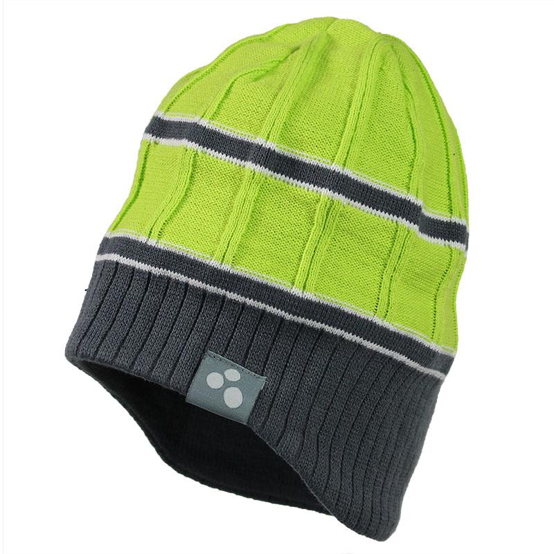 Шапка для мальчика Huppa Jarrod, цвет: лайм, серый. 80060000-70047. Размер M (47/49)80060000-70047Детская шапка Huppa Jarrod изготовлена из натурального хлопка и акрила. Шапочка с подкладкой слегка удлинена по бокам. С одного края имеется декоративная текстильная нашивка.Уважаемые клиенты!Размер, доступный для заказа, является обхватом головы. УВАЖАЕМЫЕ КЛИЕНТЫ!Обращаем ваше внимание на тот факт, что шапка маломерит.