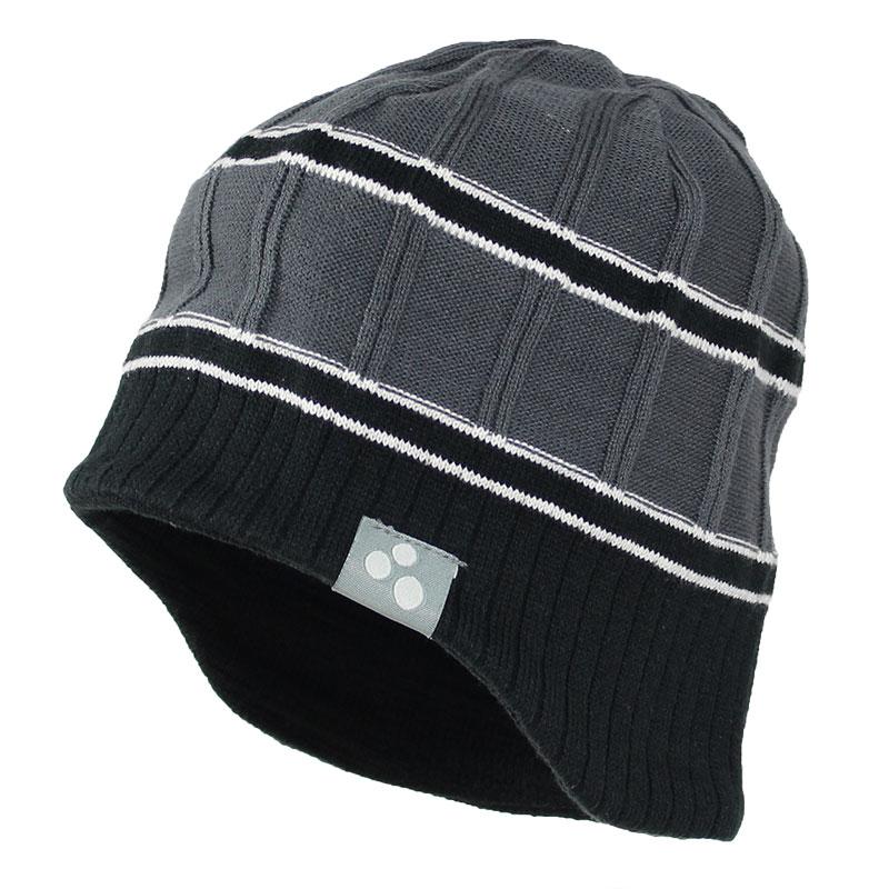 Шапка для мальчика Huppa Jarrod, цвет: серый, черный. 80060000-70048. Размер S (45/47) huppa huppa детская шапка viiro розовая