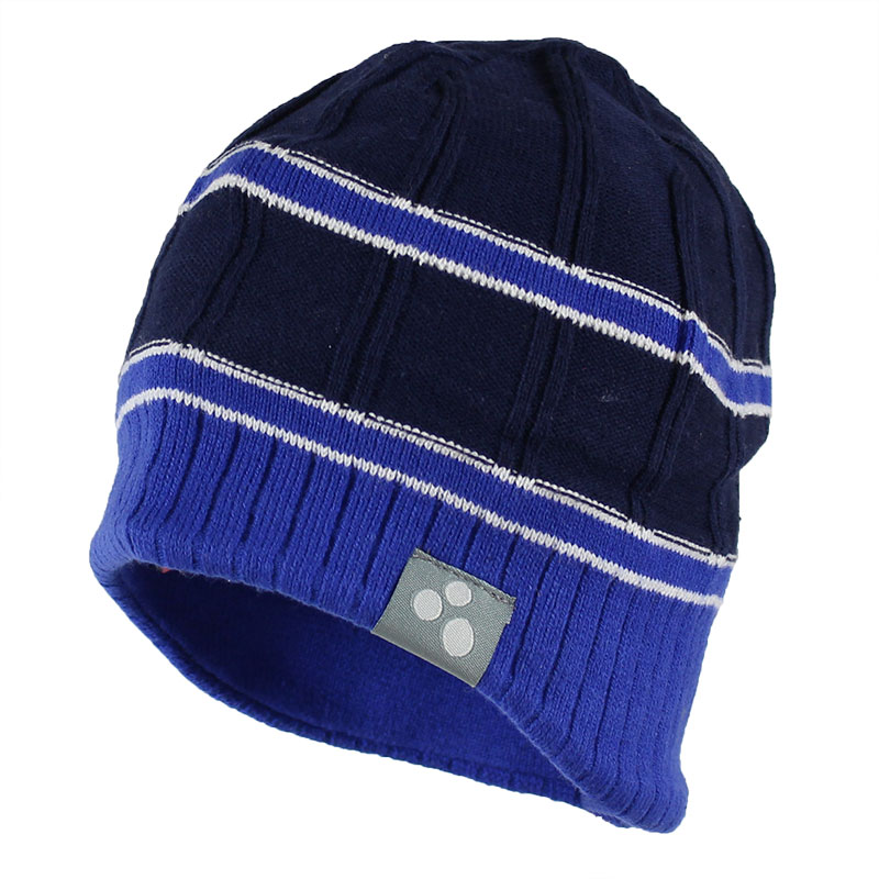 Шапка для мальчика Huppa Jarrod, цвет: темно-синий, синий. 80060000-70086. Размер S (45/47) huppa huppa детская шапка viiro розовая