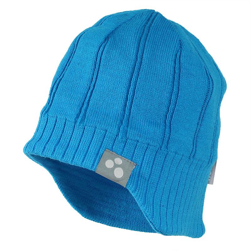 Шапка для мальчика Huppa Jarrod 1, цвет: голубой. 80060100-70046. Размер S (47/49)80060100-70046Теплая вязаная шапочка Huppa Jarrod согреет вашего ребенка в прохладную погоду. Шапочка связана из натурального хлопка с добавлением акрила.