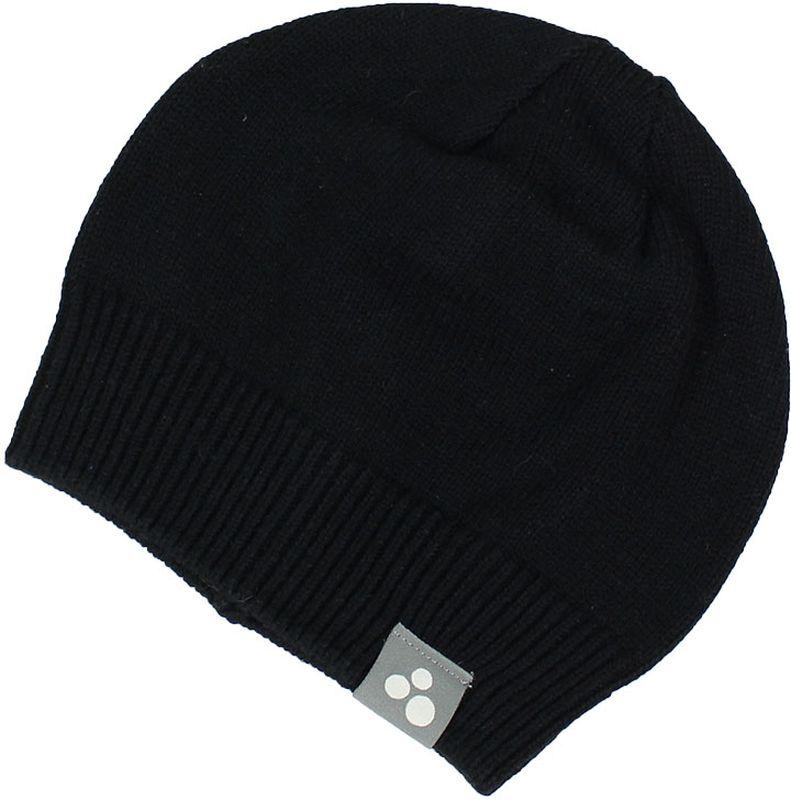 Шапка для мальчика Huppa Boris, цвет: черный. 80090000-70009. Размер S (47/49)80090000-70009Теплая вязаная шапочка Huppa Boris согреет вашего ребенка в прохладную погоду. Шапочка изготовлена из натурального хлопка и акрила.