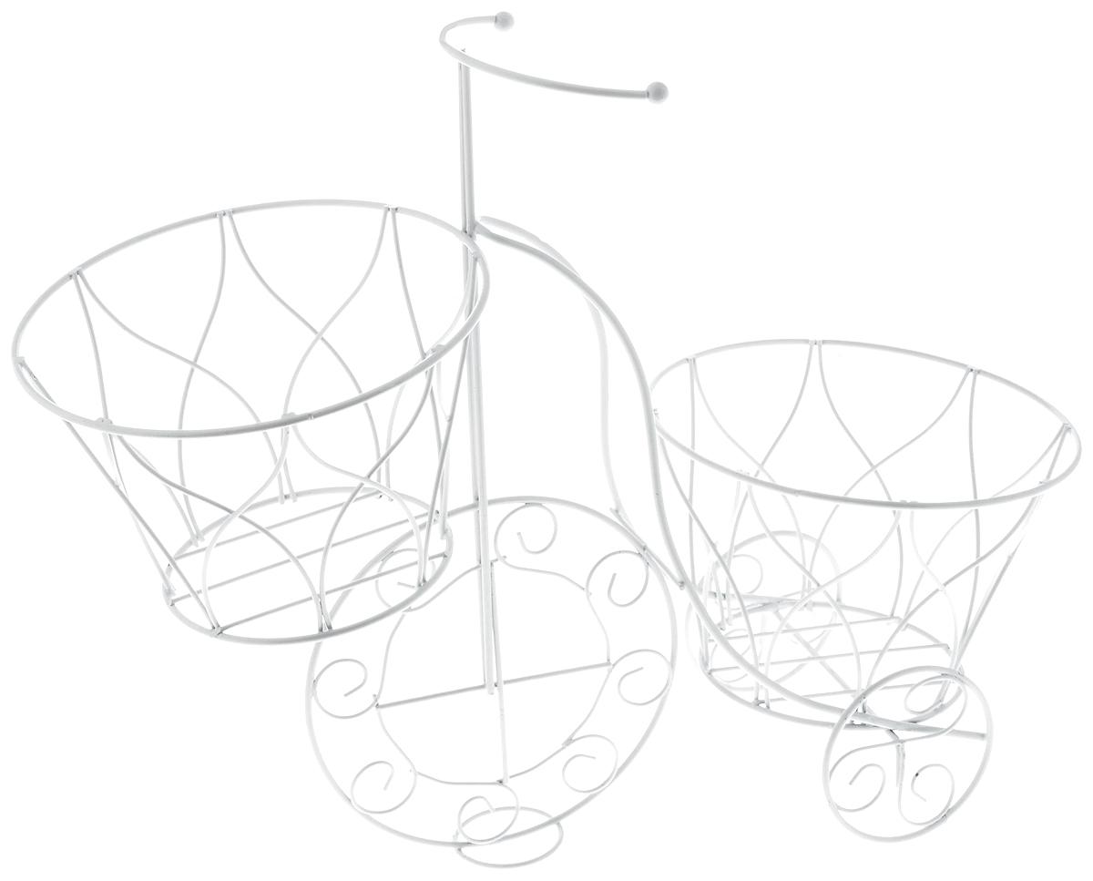Кашпо Magic Home Велосипед, 41 х 18 х 35 см. 44163 кашпо xxl москва